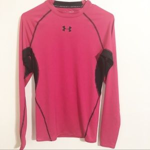 Under armour / long sleeve compression shirt / M